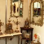Бронзовые настенные зеркала