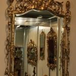 Настенные зеркала из бронзы