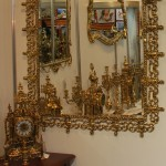Зеркала на стену из бронзы