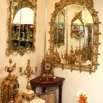 Зеркала и предметы интерьера из бронзы