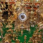 Часы каминные и канделябры