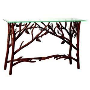 приставной консольный столик